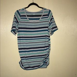 Motherhood xl stripped top